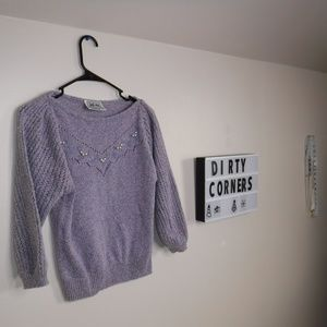 just ms Lilac Sweater